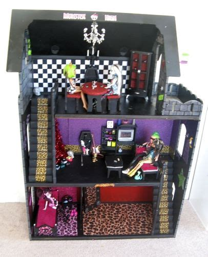 monsterhigh doll house monster high dolls scary cool fashion dolls
