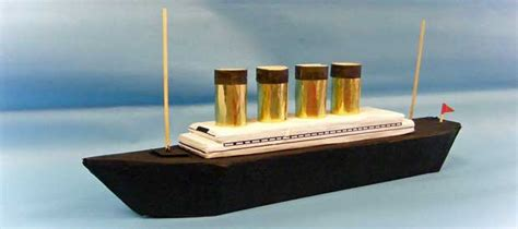 How To Make A Titanic Model Out Of Paper - titanic model play resource