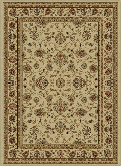 piano pading rug elegance 5142 ivory area rug by tayse