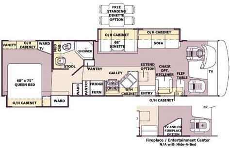 georgetown floor plan georgetown floor plan 2005 forest river georgetown class a
