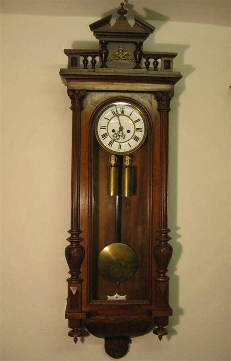 gustav becker uhren antique german gustav becker wall clock 2 weight
