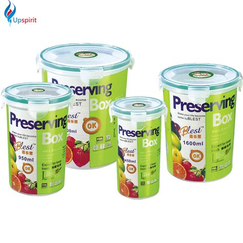Plastic Food Container Set 4pcs 1 buy wholesale airtight food container from china