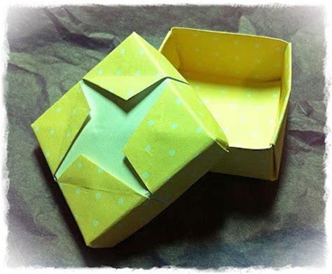 Origami Masu Box - origami masu box my simple cards and crafty