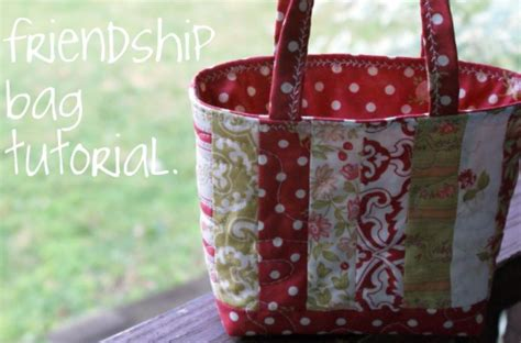 tutorial videos for quilting and tote bags one hour jelly roll strips friendship tote quilting cubby