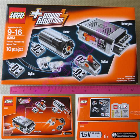 lego technic power functions motor set 8293 new lego technic power functions motor accessory set 8293