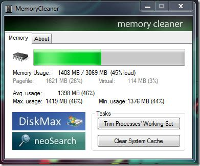 windows ram cleaner free up windows 7 ram memory cleaner