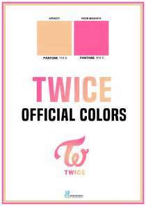 Christmas Color Schemes twice announces their official group colors soompi