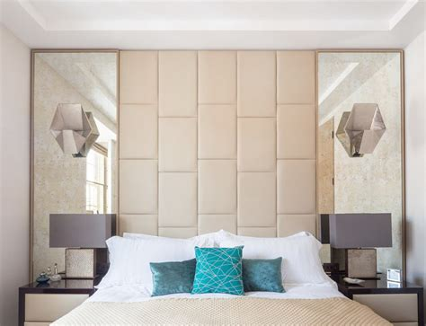 headboards with mirrors how to decorate your bedroom with mirrors 8 tricks and