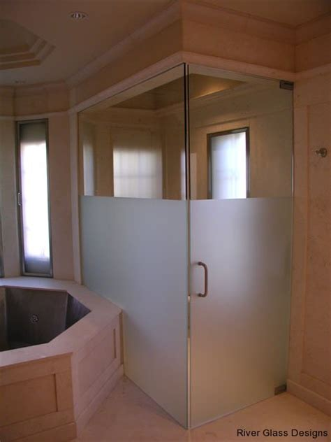 Frosted Glass Shower Door Frameless Glass Shower Door Archives Frameless Glass Shower