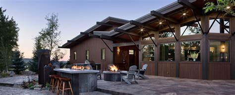 modern timber frame home log and homes plans by