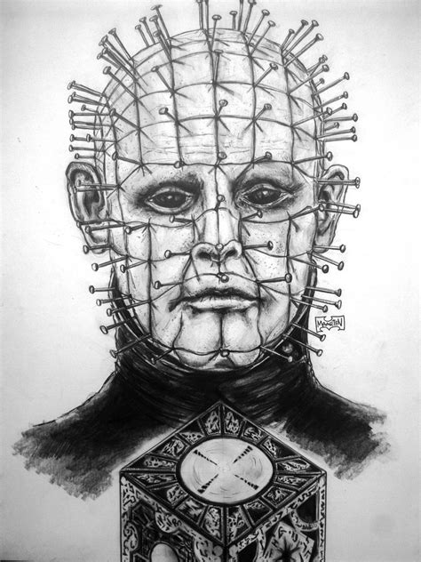 pencil drawings from photos free pinhead hellraiser by xpendable on deviantart