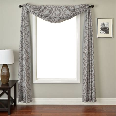 Scarves For Windows Designs Best 25 Window Scarf Ideas On Pinterest Bedroom Curtains Curtains For Bedroom