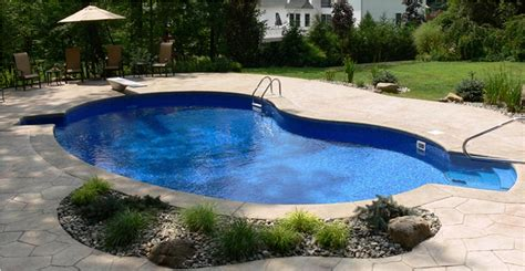 price of small inground pool backyard design ideas