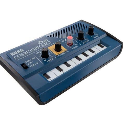 Keyboard Korg Synth korg monotron duo analogue ribbon mini synth synthesizer