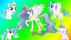 mlp princess celestia my pony transforms princess celestia baby