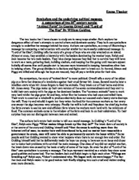 Lord Of The Flies Essays On Symbolism by Excellent Ideas For Creating Lord Of The Flies Essays On Symbolism
