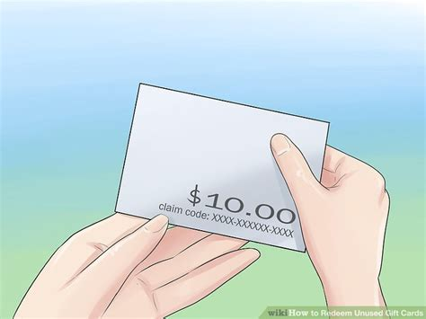 Amazon Trade In Gift Card Claim Code - 4 ways to redeem unused gift cards wikihow