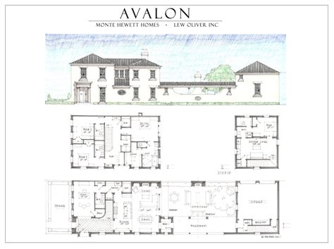 avalon floor plan avalon alpharetta estate home by monte hewett homes jpg
