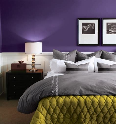 deep purple and grey bedroom purple accents in bedrooms 51 stylish ideas digsdigs