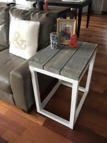 End Table Ideas by Best 25 Diy End Tables Ideas On Pinterest Pallet End