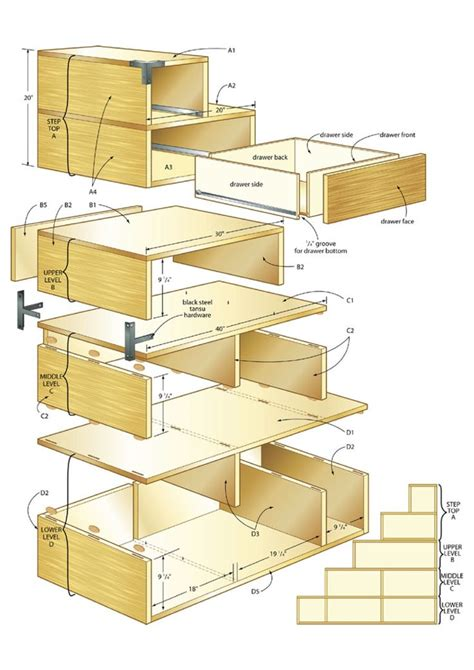 build  tansu chest making  house  home pinterest woodworking woodworking plans
