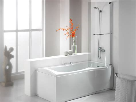 bathroom with bathtub and shower bathroom ideas corner tub shower combo units in white color using acrylic wall panel