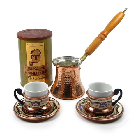 Coffe Set 2 turkish coffee set for two with decorations