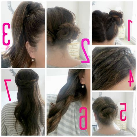 college hairstyles for medium hair dailymotion remarkable easy hairstyles step by for school women