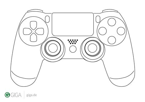 Coloring Page Xbox Controller by Ps4 Controller Coloring Page Playstation 3 Controller