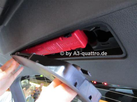 Auto Verbandskasten öffnen by Hallo Habe Vor Kurzem Ein Audi A1 Sportback 2012 Gekauft