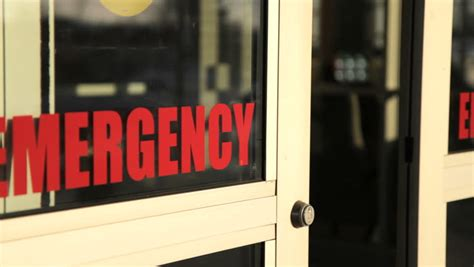 emergency room closest to me emergency room doors letters of emergency appear on screen this clip can also be