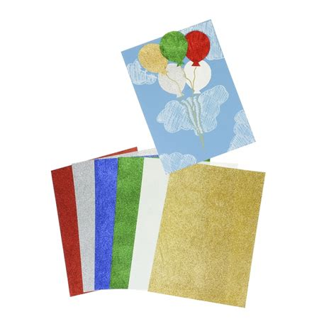 Card Paper Packs - a4 glitter paper pack 12 sheets card paper from