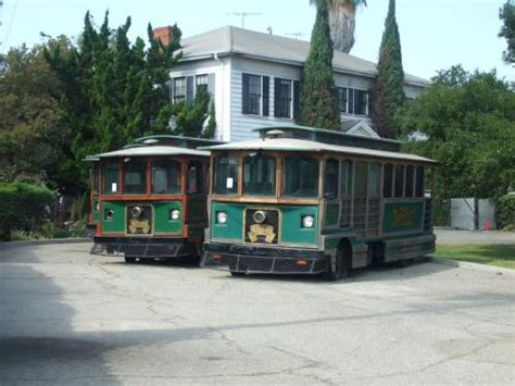 Bell Gardens Trolley woodworth archives