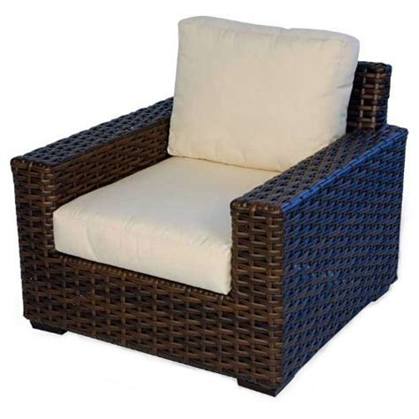 Rattan Armchair Lloyd Flanders Replacement Cushions Contempo Zippered