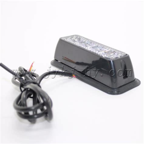remote strobe light remote controlled rgb 12v 24v 4w emergency warning led