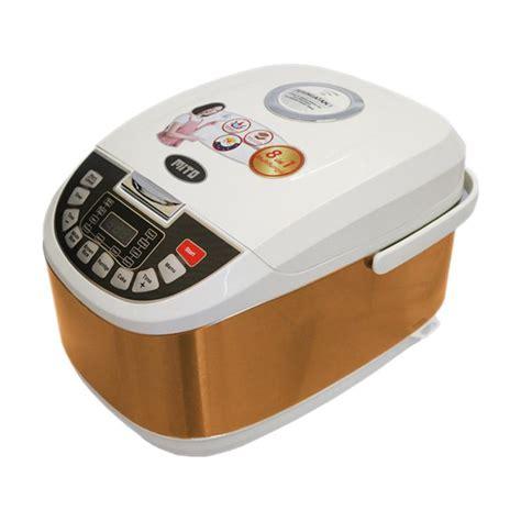 Mito Digital Rice Cooker R1 Penanak Nasi 8 In 1 jual mito r5 8in1 digital rice cooker gold 2 l harga kualitas terjamin blibli