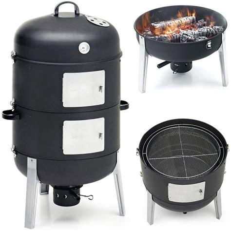 Tas Paket 3in1 Tas Paket 3in1 6 barbecook smoker xl r 228 ucherofen 3 in 1 watersmoker bbq grill und feuerstelle neu ebay