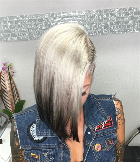 reverse frostings to achieve gray hair 25 best ideas about reverse ombre hair on pinterest