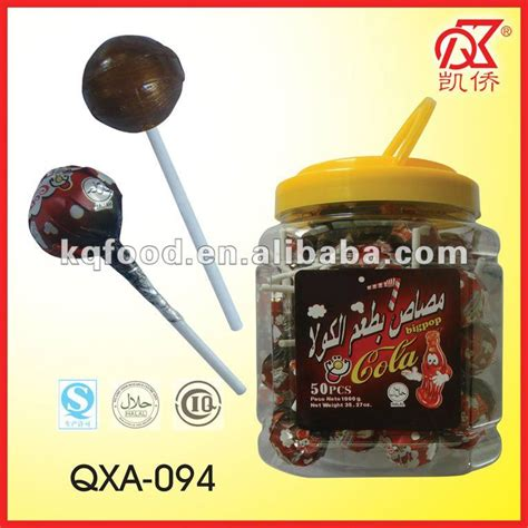 Kantong Asi 50pcs 20g cola gum lollipops confectionery products