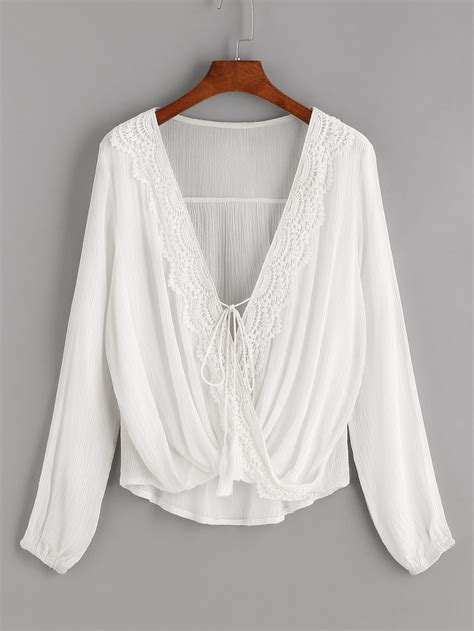 Blouse Atasan Louse Ring Knit Rs white draped zip front blouse apparel and accessories products s clothing manufacturers