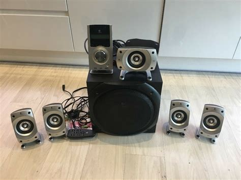 logitech   multimedia  home theatre speaker system