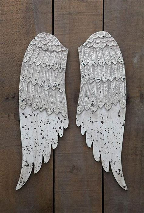 wall mounted angel wings holiday wall decoration novacom