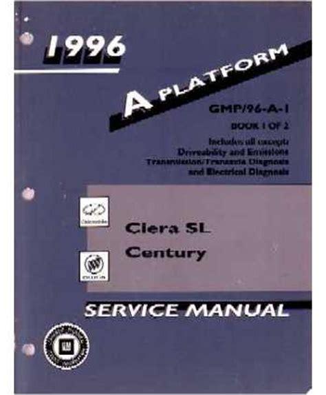 service manuals schematics 1996 oldsmobile ciera on board diagnostic system 1996 buick century oldsmobile ciera sl body chassis electrical service manual