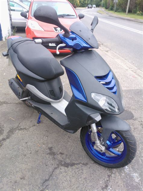 50cc nrg piaggio moped 06 plate