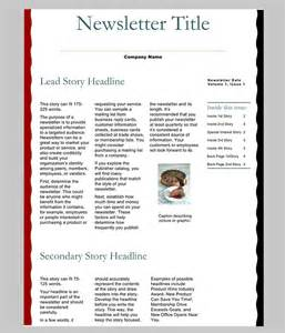 Template Newsletter Word by 7 Newsletter Word Templates Word Excel Pdf Templates
