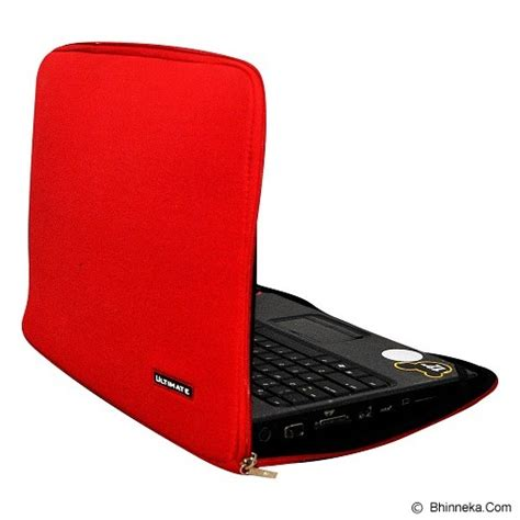 Tas Laptop Ultimate Softcase Notebook 10 Hitam jual ultimate softcase notebook plain classic 10 inch