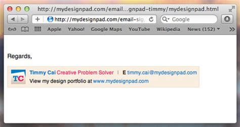 portfolio site of timmy cai 187 creator of meaningful web signature on gmail gidiye redformapolitica co