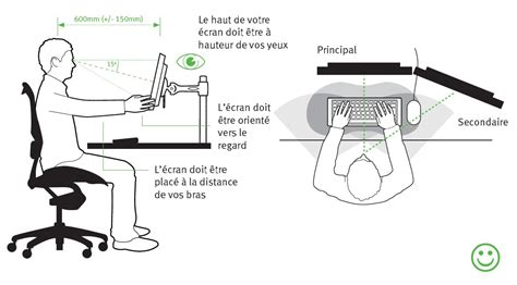 position au bureau ergonomie bureau top 25 best ergonomie bureau ideas on