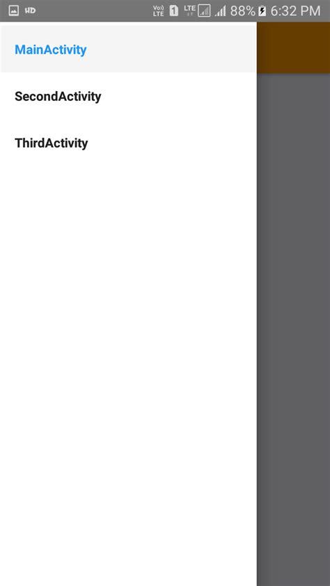 react native drawer navigator android ios tutorial  hamburger icon
