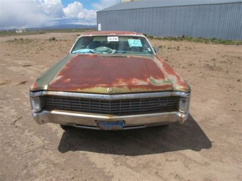 1970 Chrysler Imperial For Sale by Find Used 1970 Chrysler Imperial Lebaron Hardtop 2 Door 7